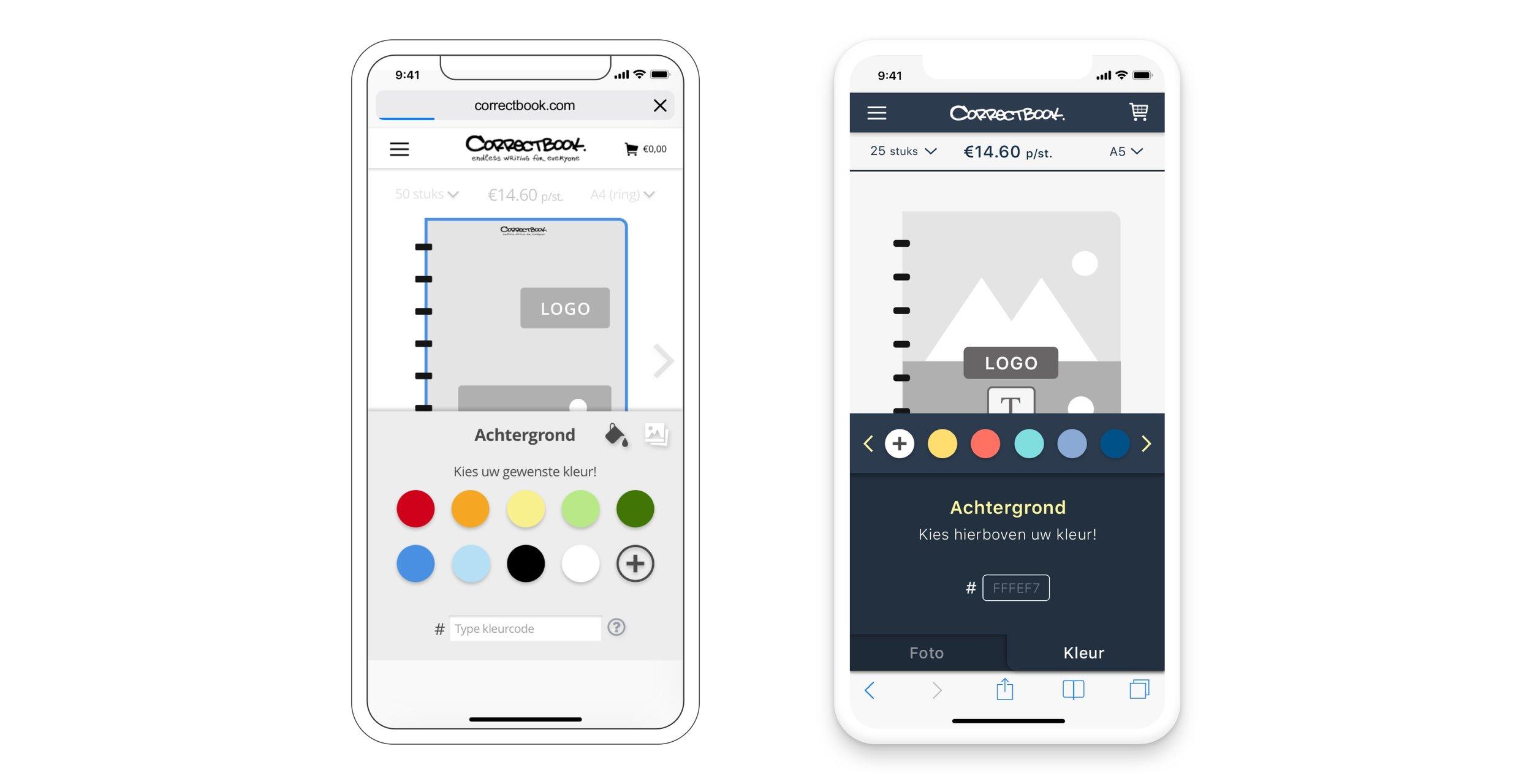 UX/UI Correctbook