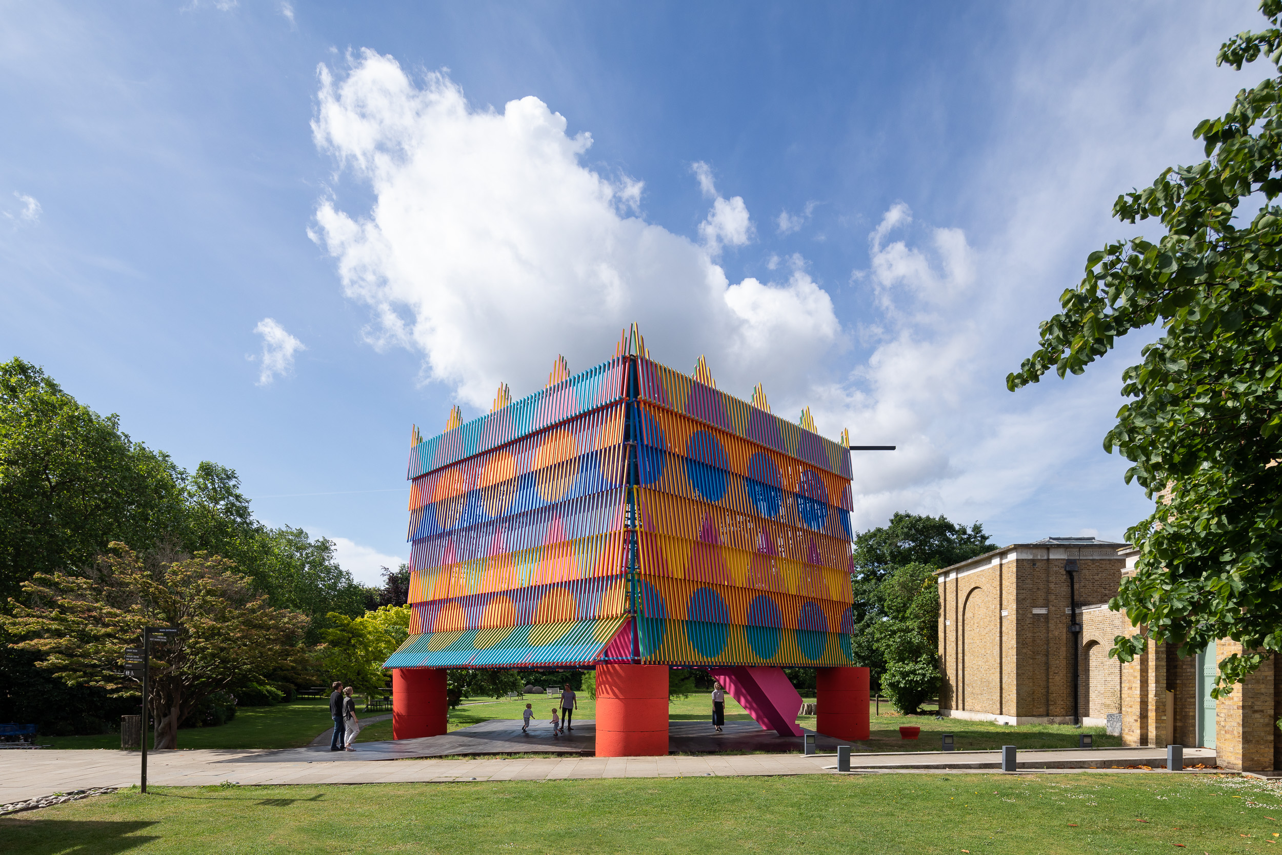 The Colour Palace at Dulwich Picture Gallery | Yinka Ilori & Pricegore