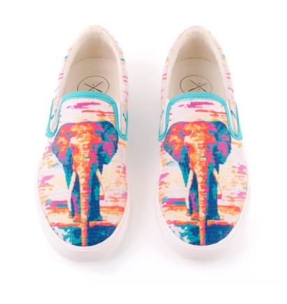 Thai Elephant - INKKAS SLIP ON