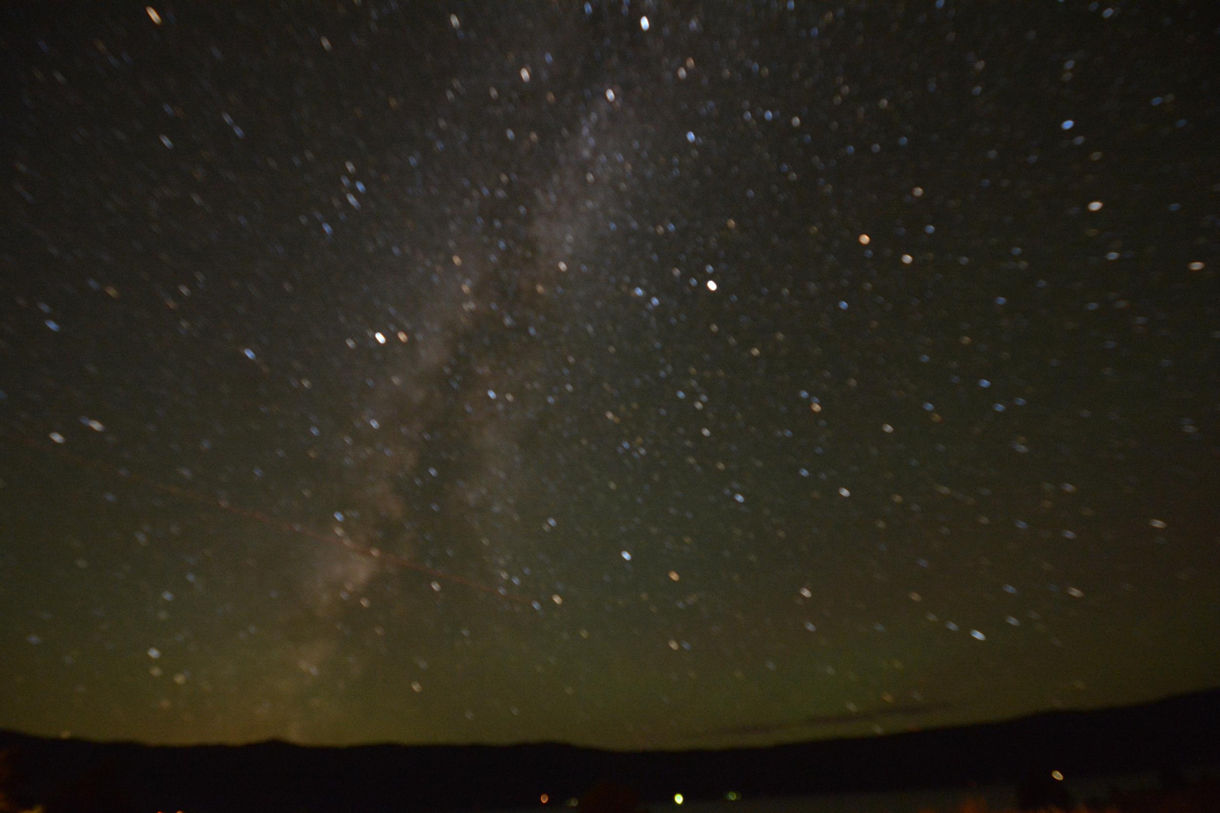 OOF Milkyway over Cascade Lake, Idaho