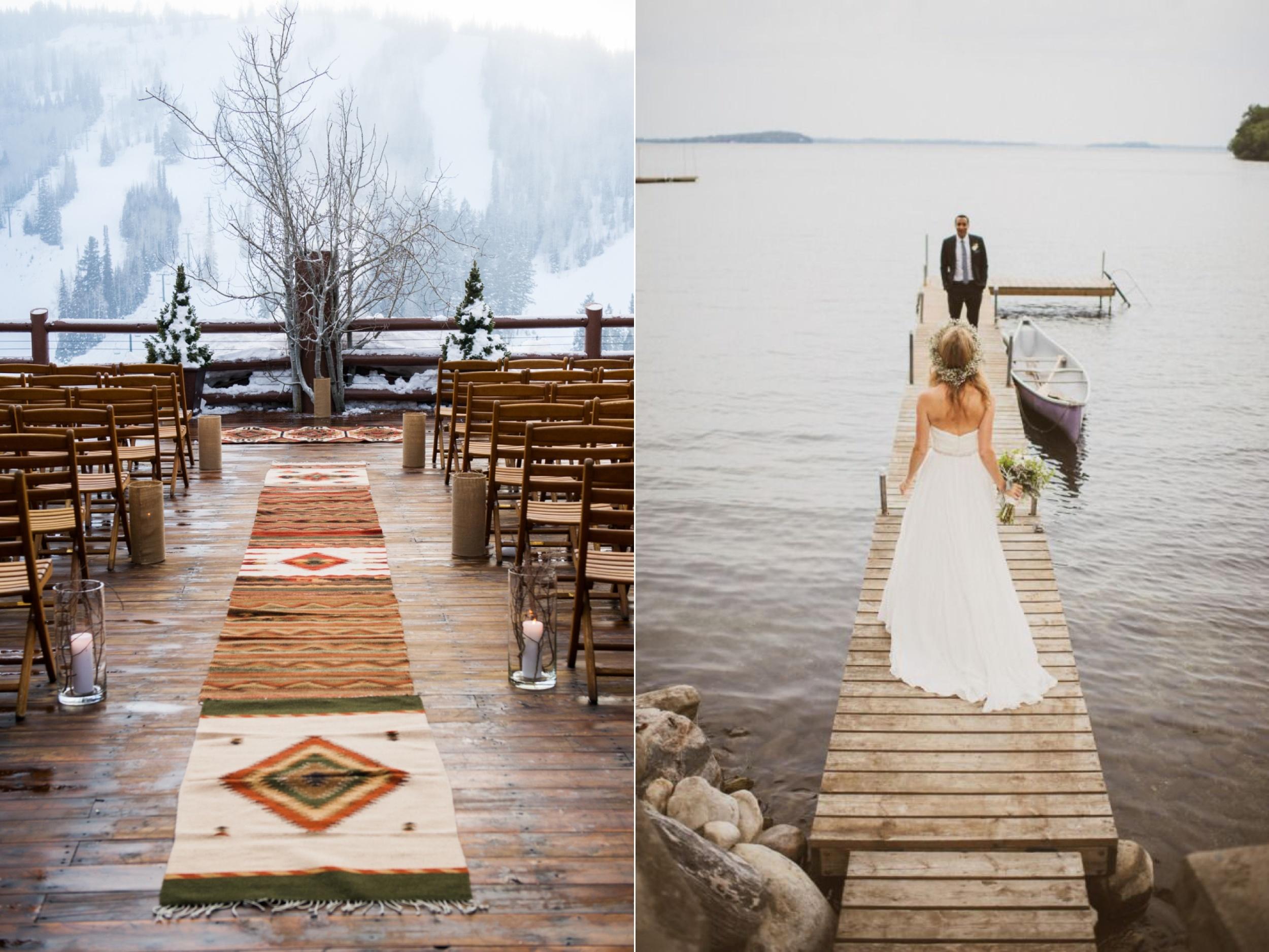 Left:  Cory Ryan Photography  Right:  Mango Studios