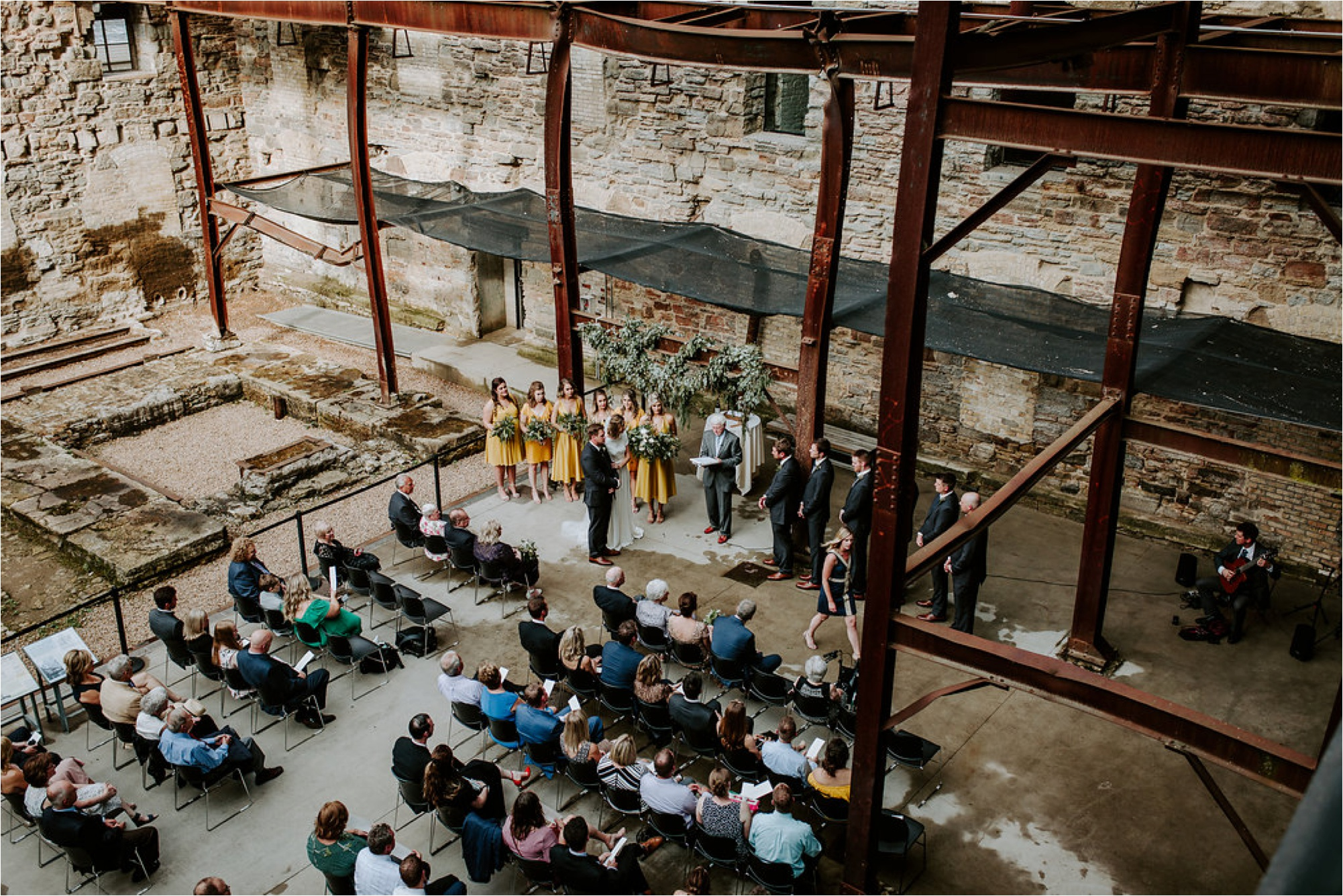 mill city museum wedding ceremony