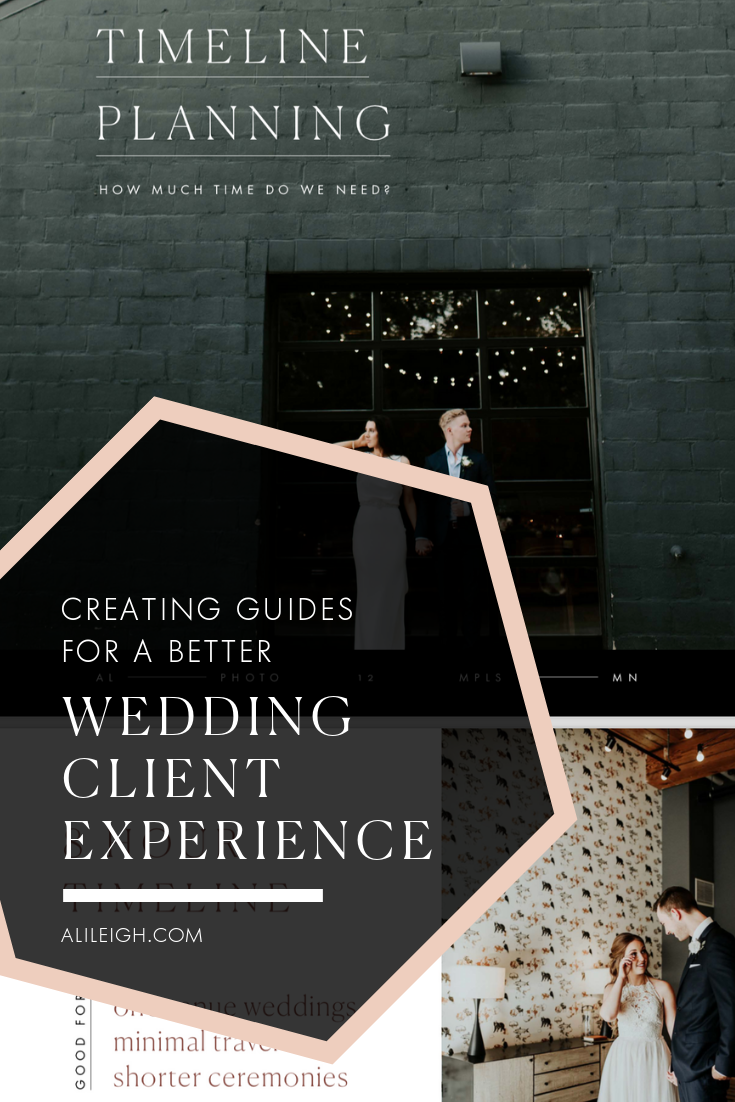 Wedding Client Guide Example
