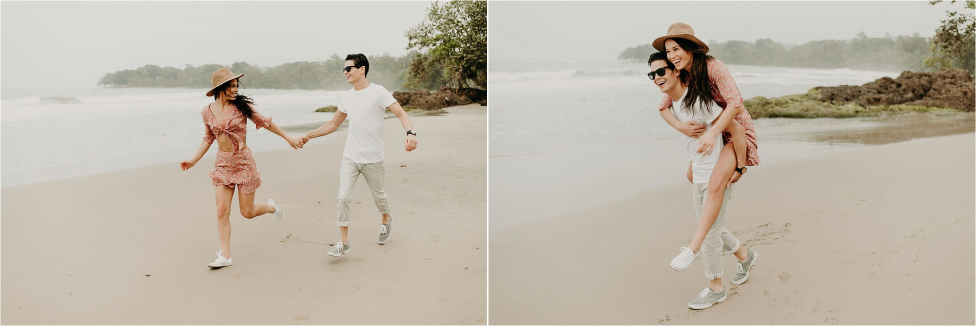 costa rica beach elopement photography