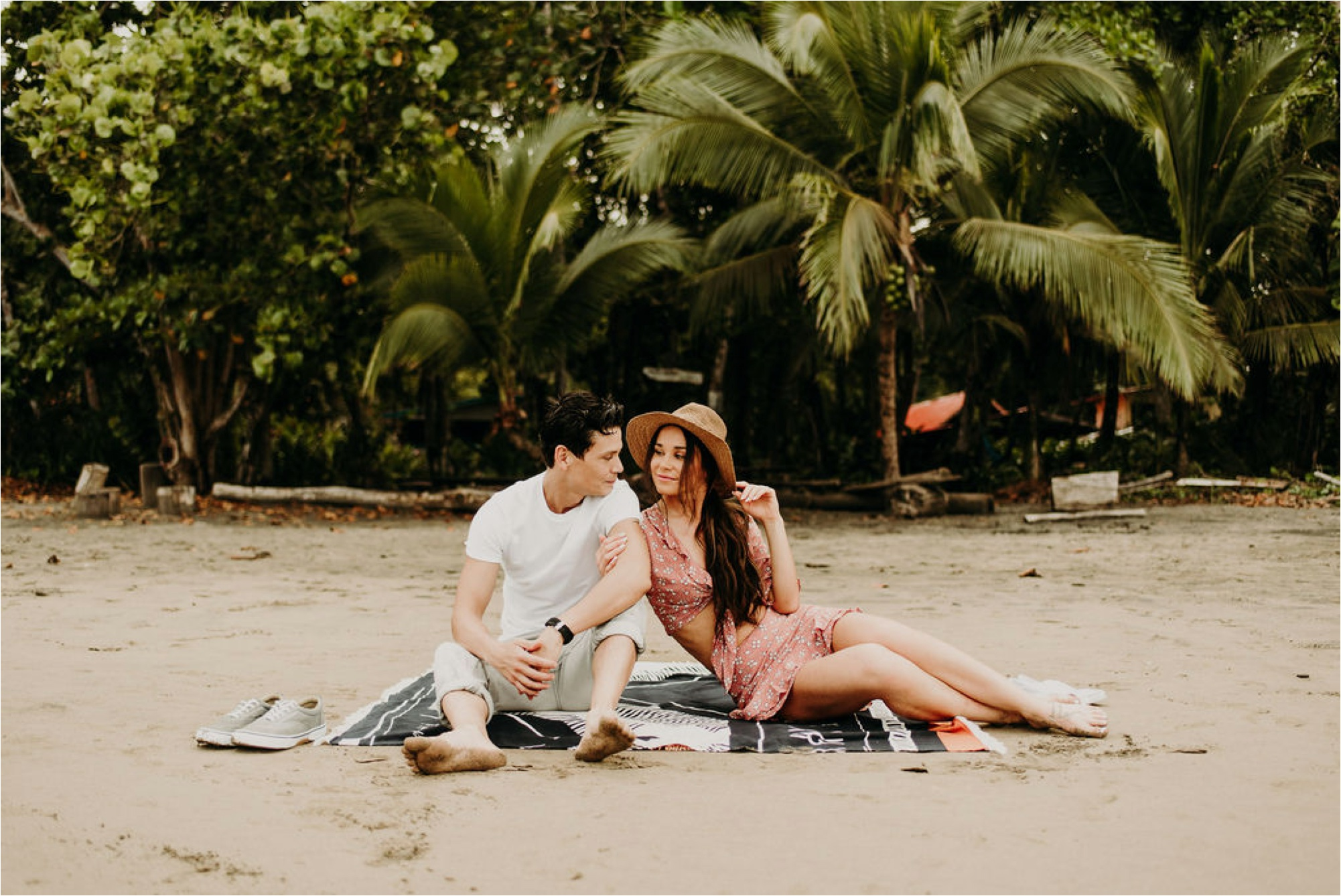 costa rica beach elopement photography puerto viejo