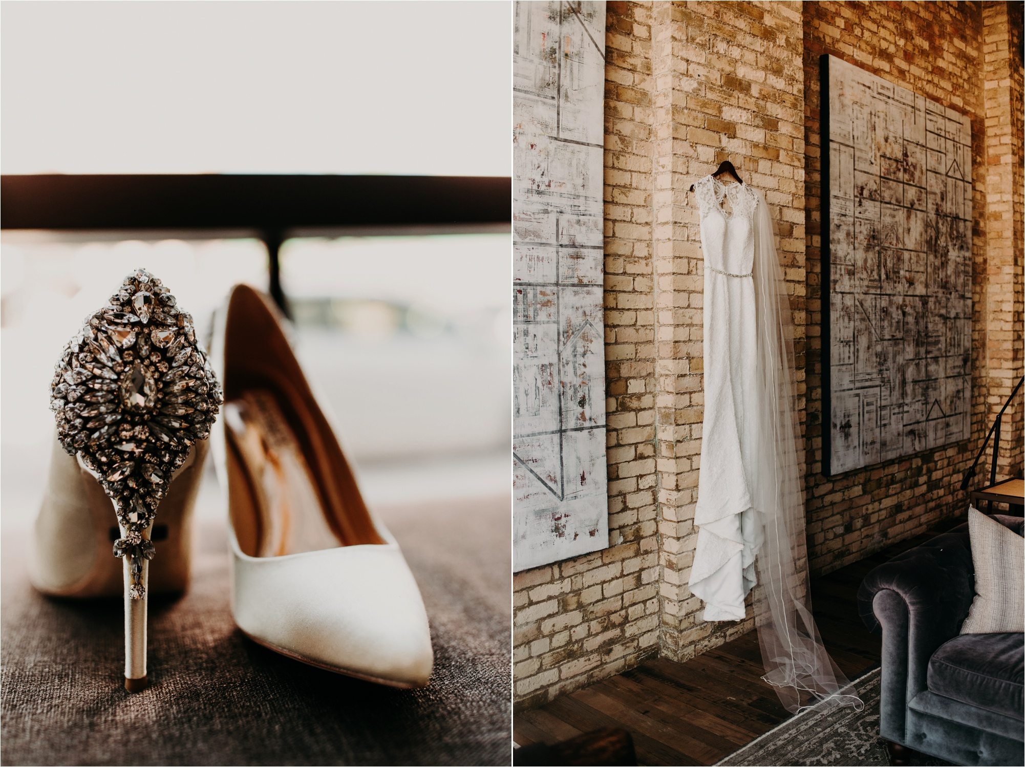 hewing hotel wedding getting ready space photography