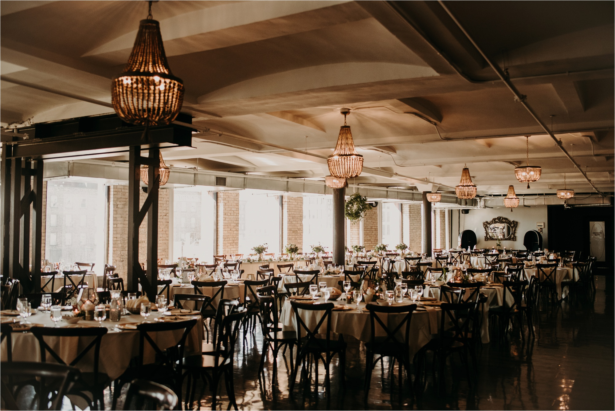 industrial wedding venue minneapolis minnesota the lumber exchange