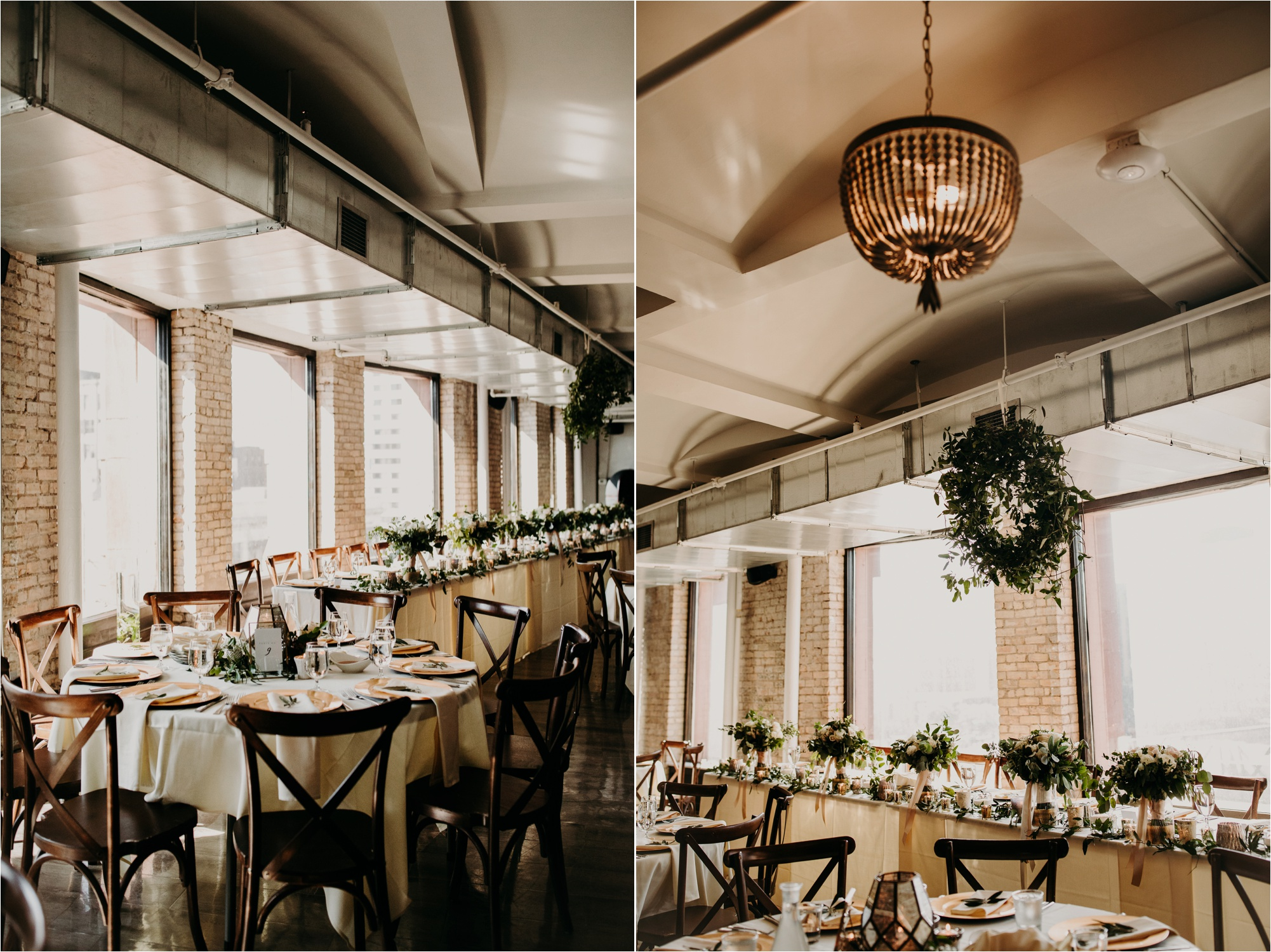 industrial wedding venue minneapolis minnesota the lumber exchange wedding reception