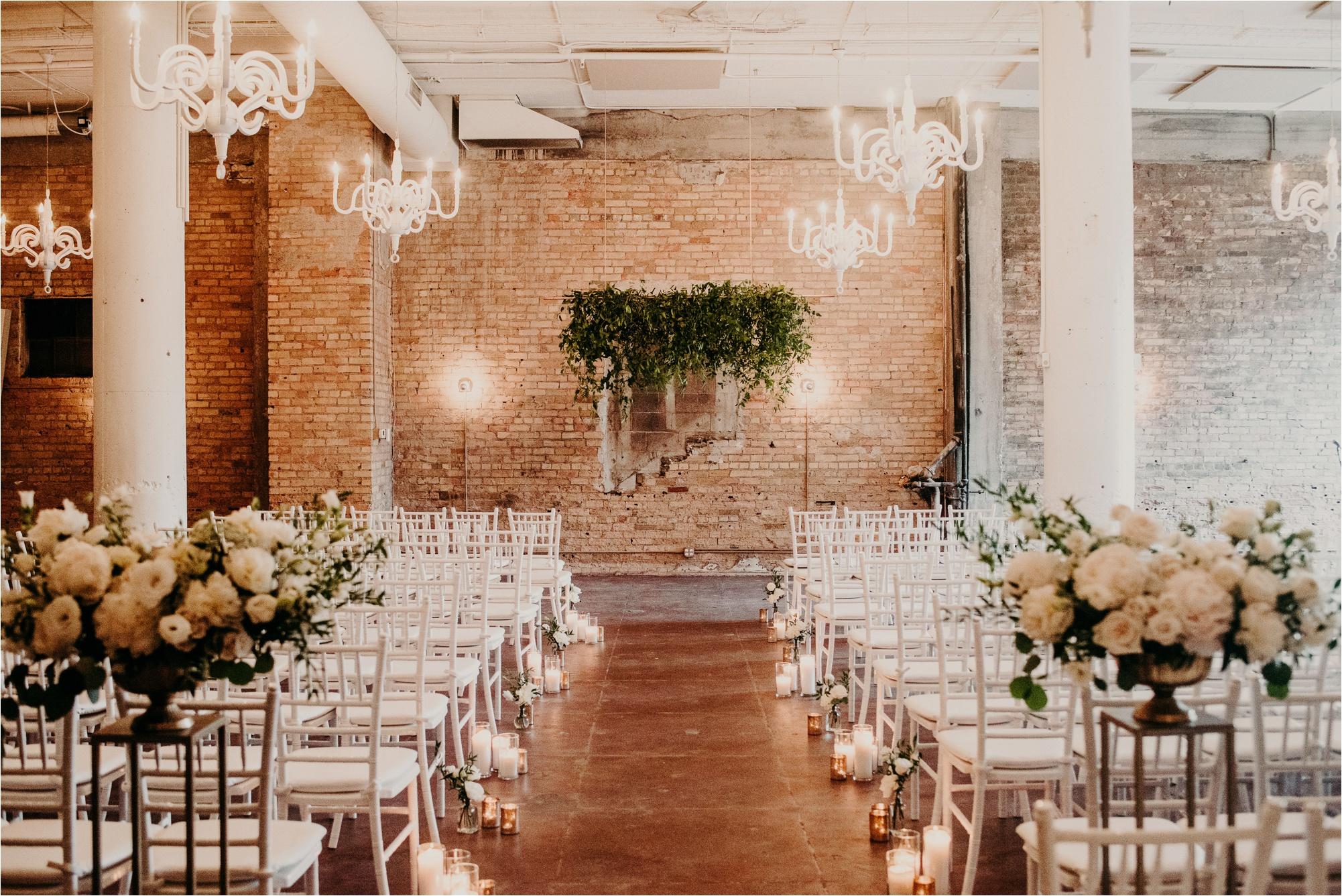 loring social minneapolis wedding ceremony space pristine floral
