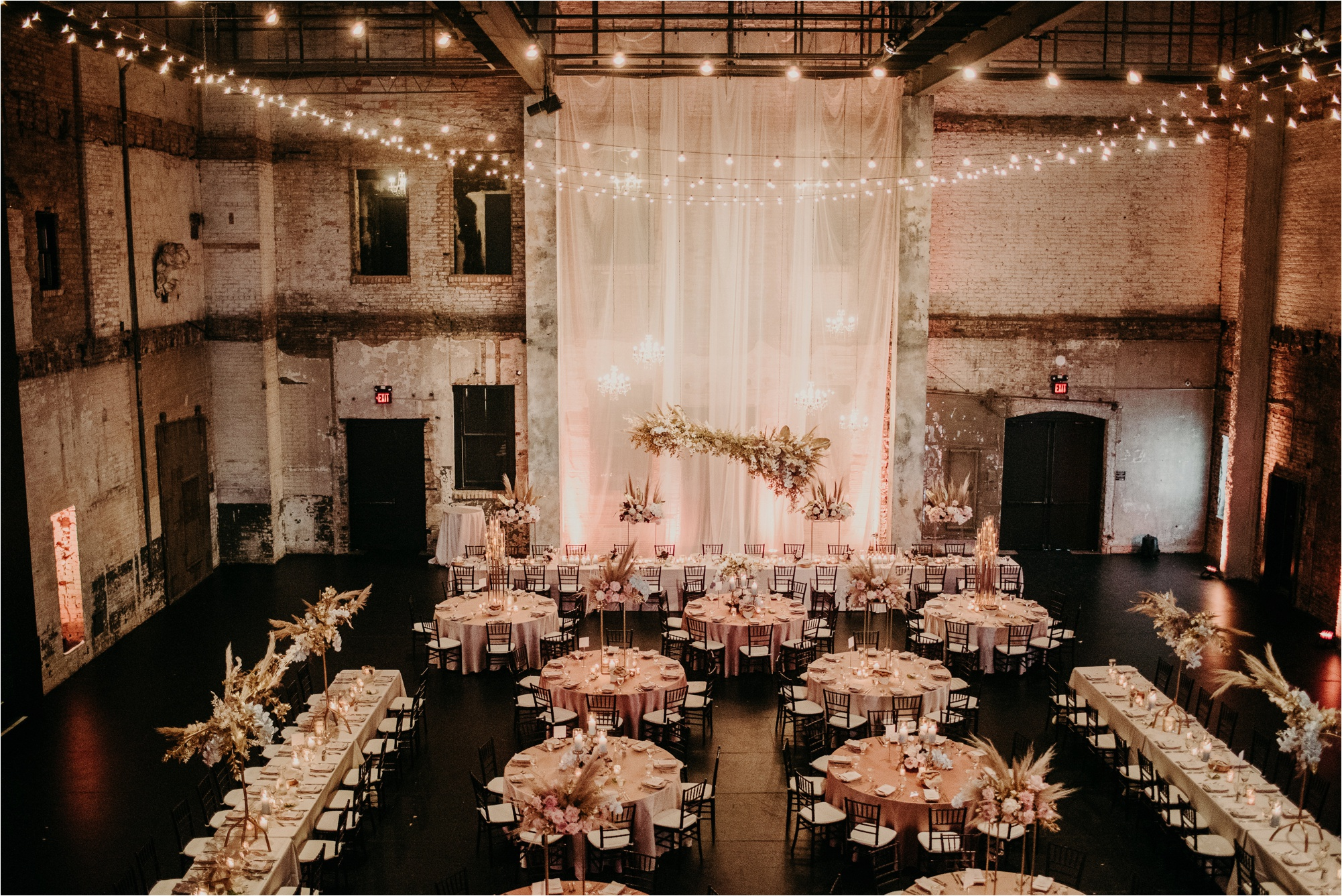 aria minneapolis reception decor ideas