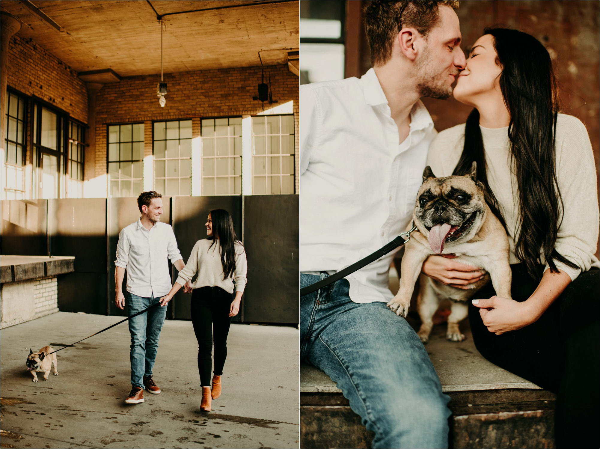 north loop minneapolis engagement session ali leigh photo