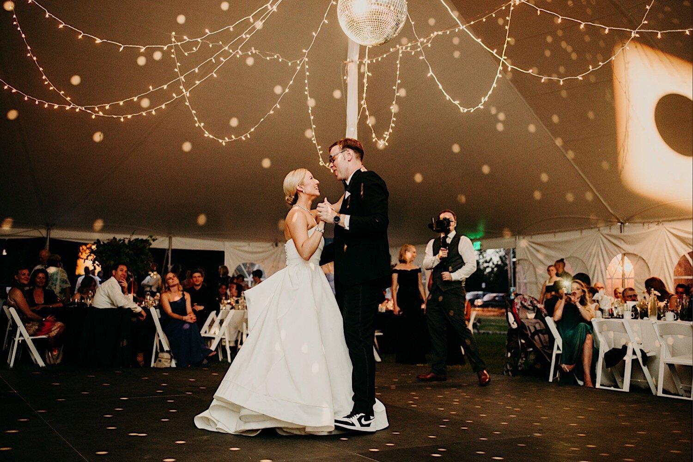 glensheen mansion duluth wedding tent reception