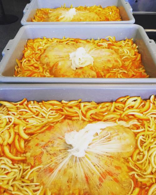marmalade soaking peels