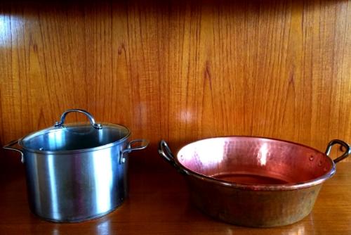 preserving pans