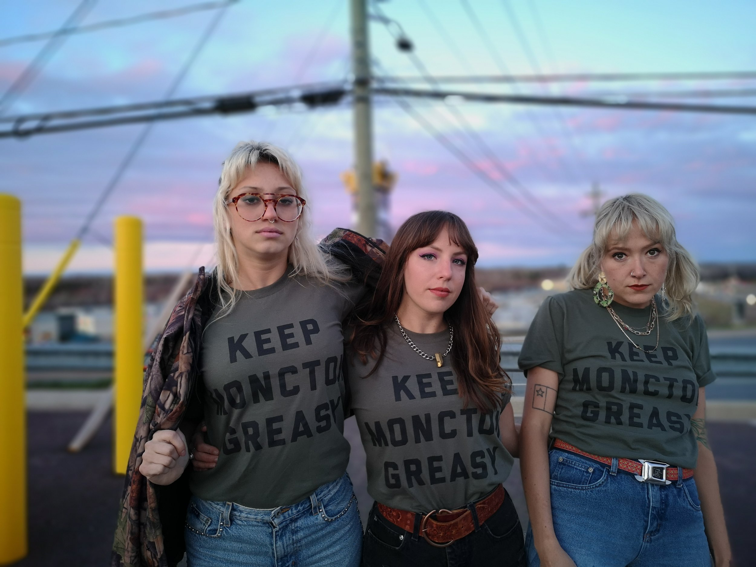 Keep Moncton Greasy T-Shirt - The Girl From Away - Moncton, New Brunswick 2.jpg