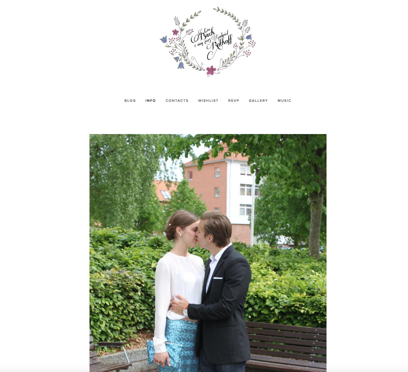 Bröllopsbloggen.
