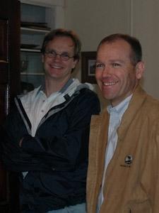 Dan Johnson with  Dave Calhoun