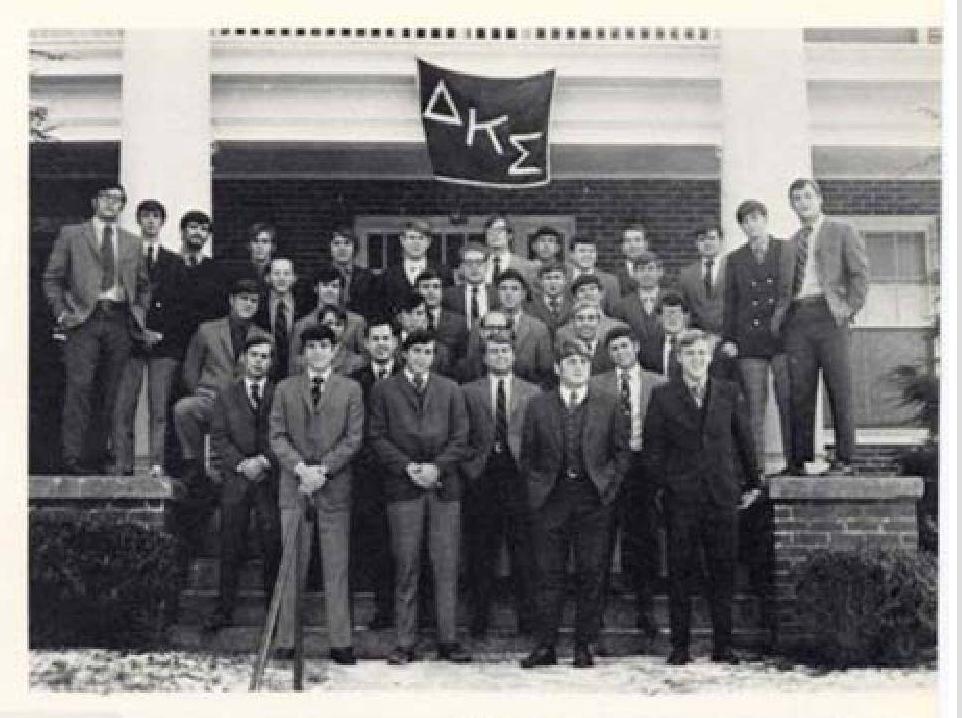 DKS in their house on Roanoke Street