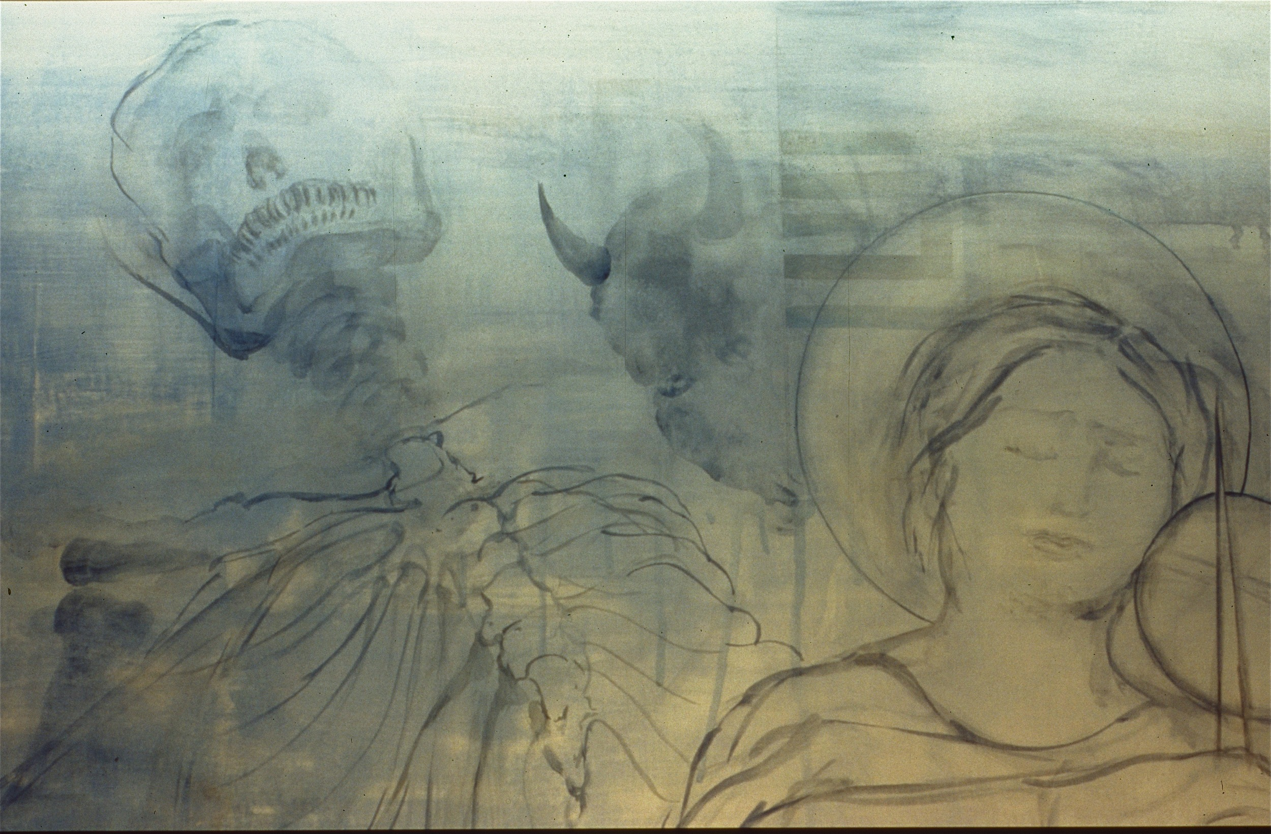 recuerdo (after Tomas Rivera)  (detail)  2002