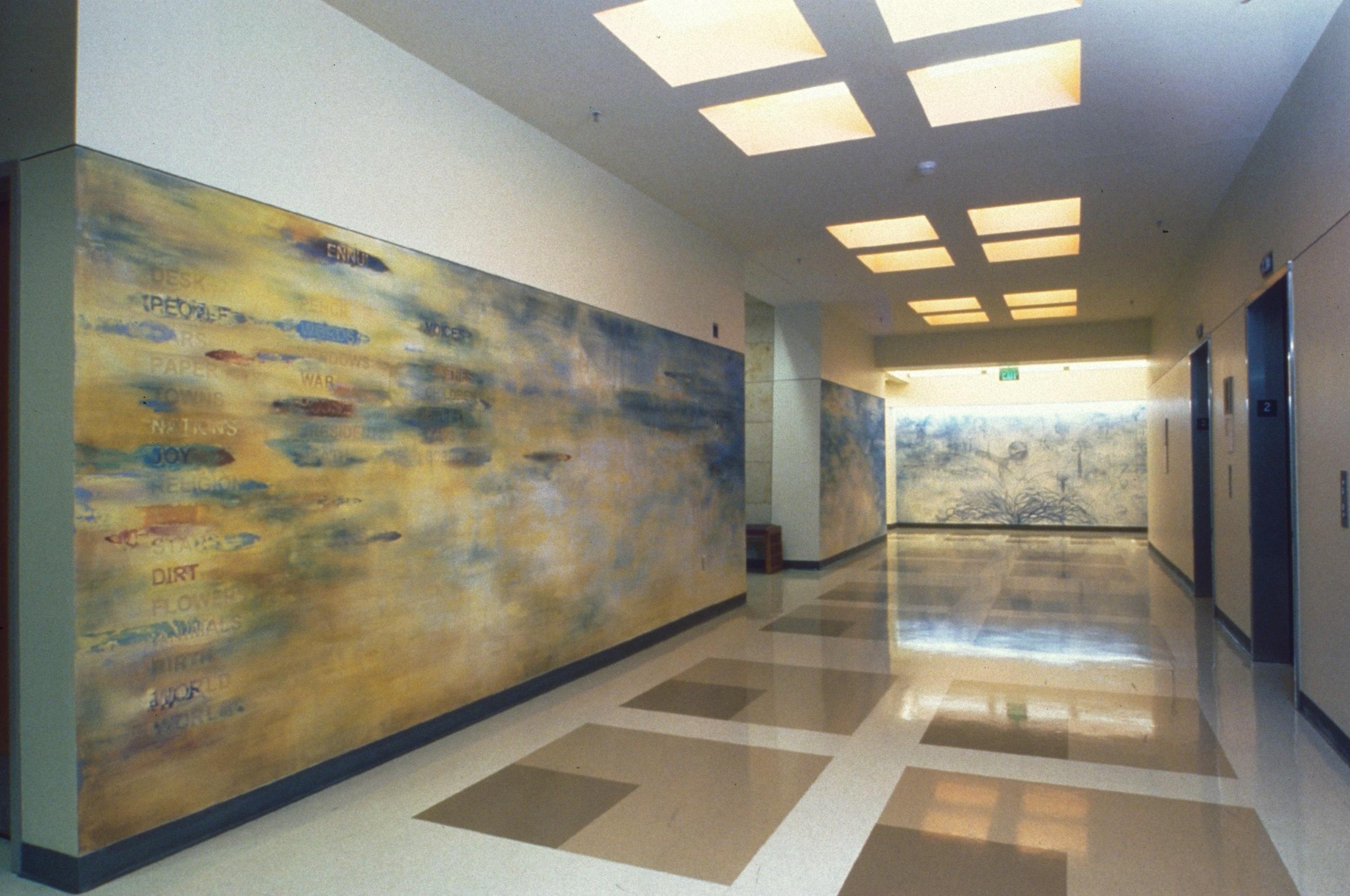 recuerdo (after Tomas Rivera)  University of Texas, San Antonio  Installation Overview  2002