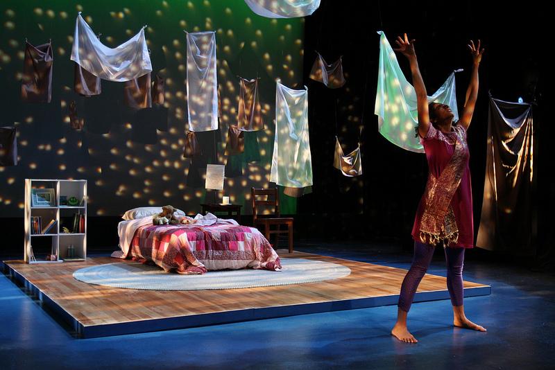Photo by Jati Lindsay. World Premiere of  Meena's Dream  at Forum Theatre January 2014.