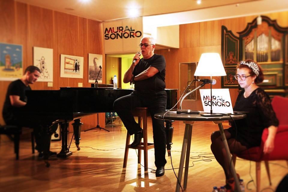 Victor Zamora (piano), Paulo de Carvalho (voz), Soraia Simões (autoria, condução)