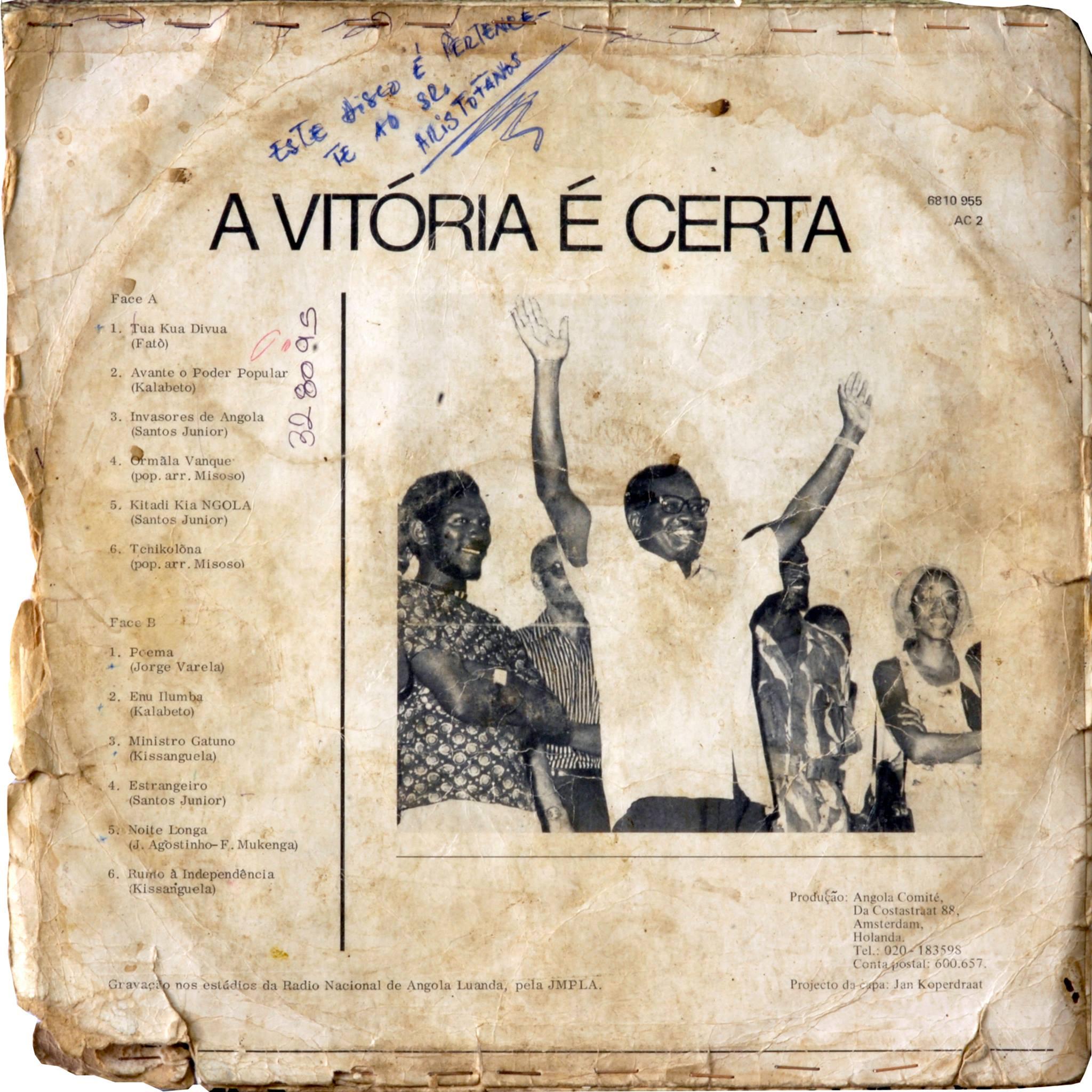 Fotografia realizada para Documentário Dipanda'75, Autor: Alexandre Nobre, Espólio Rádio Nacional de Angola (RNA), registos autorizados para realização de documentário