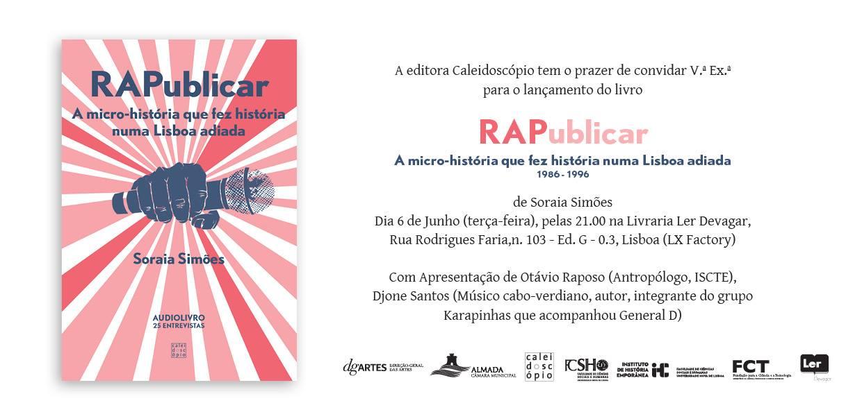 audiolivro RAPublicar de Soraia Simoes