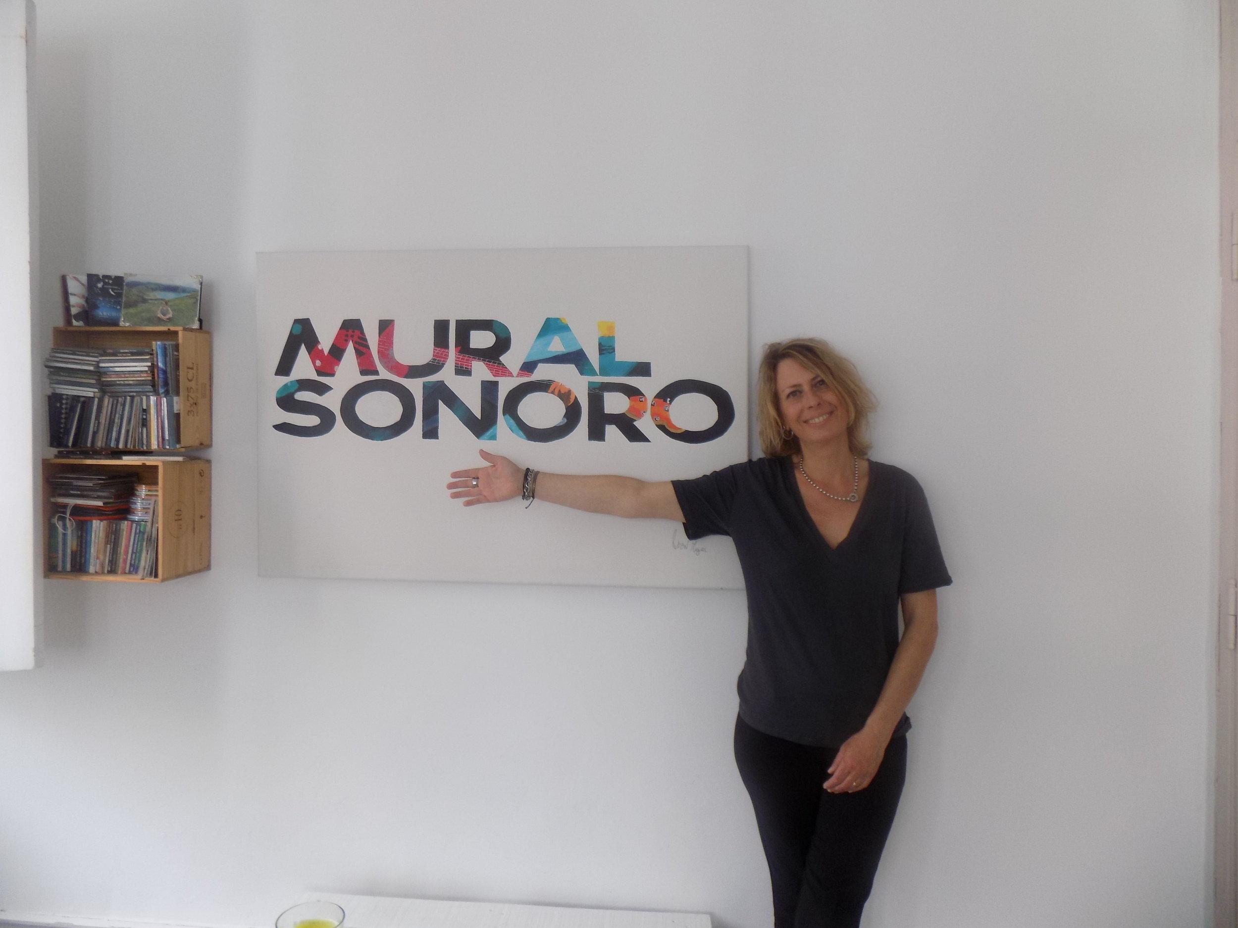 Sandra Baptista Podcast Mural Sonoro