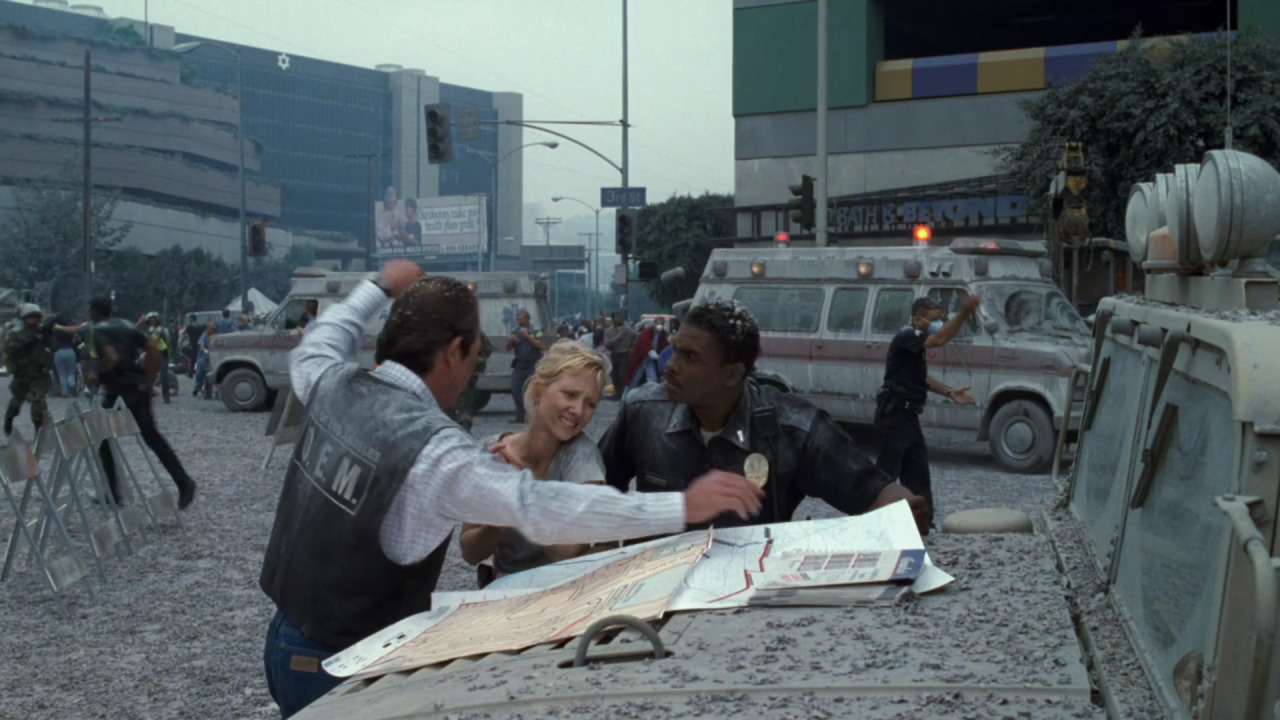 Volcano  (1997), main characters, street level.