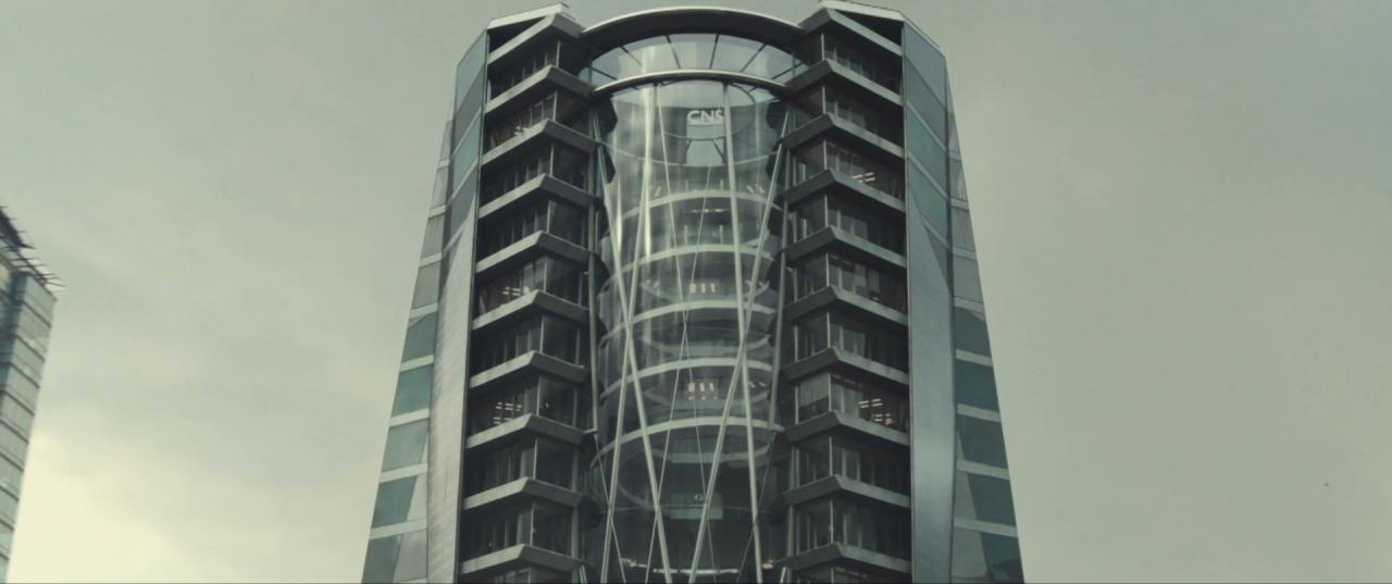 Spectre  (2015), CNS Building.