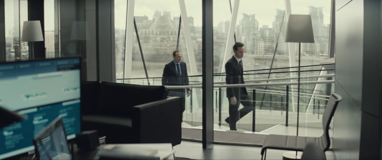 Spectre  (2015), CNS Building, top of stair, C's office.