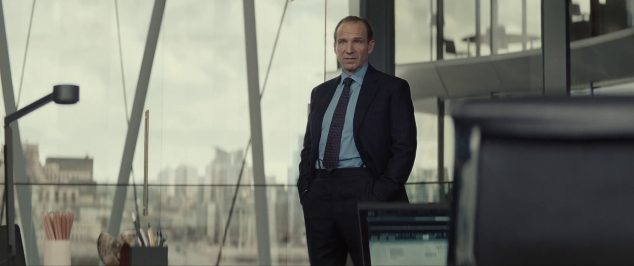 Spectre  (2015), CNS Building, opposite view from C's office.