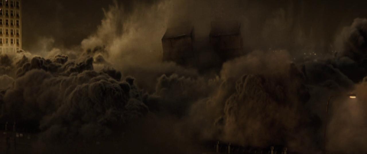 Spectre  (2015), SIS Building demolition.