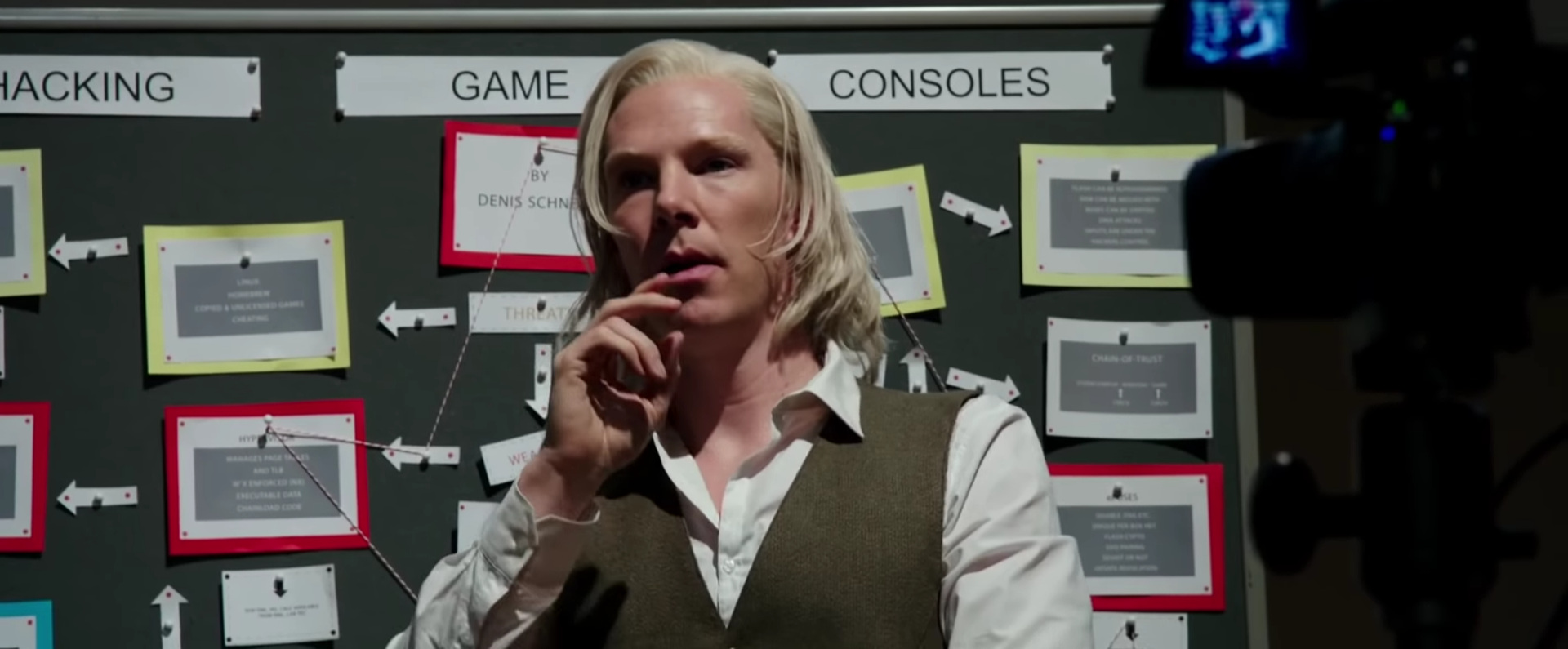 The Fifth Estate  (dir. Bill Condon, 2013).