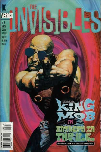 Invisibles  v1n19 (Vertigo, 1995), cover