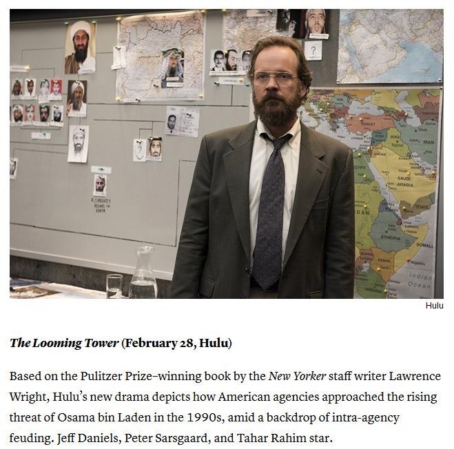 The Looming Tower  (Hulu, 2018) in  The Atlantic