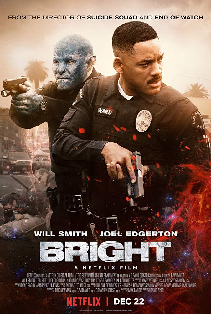 Bright  (dir. David Ayer, 2017), poster