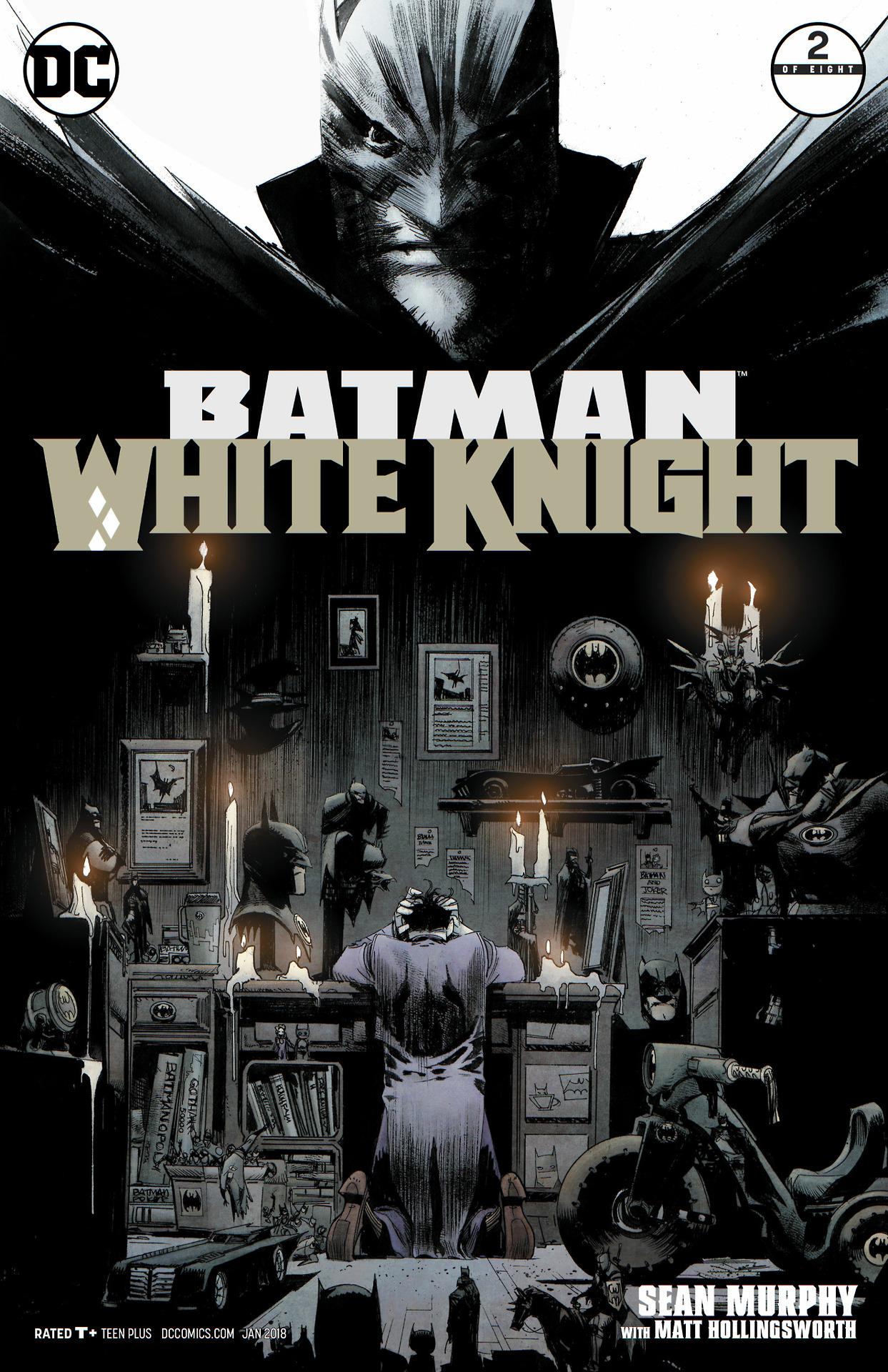 Batman: White Knight  #2 (DC, January 2018), cover