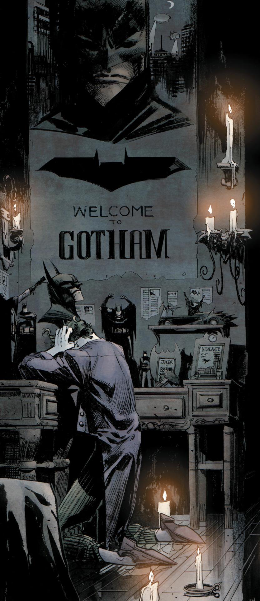 Batman: White Knight  #2 (DC, January 2018)