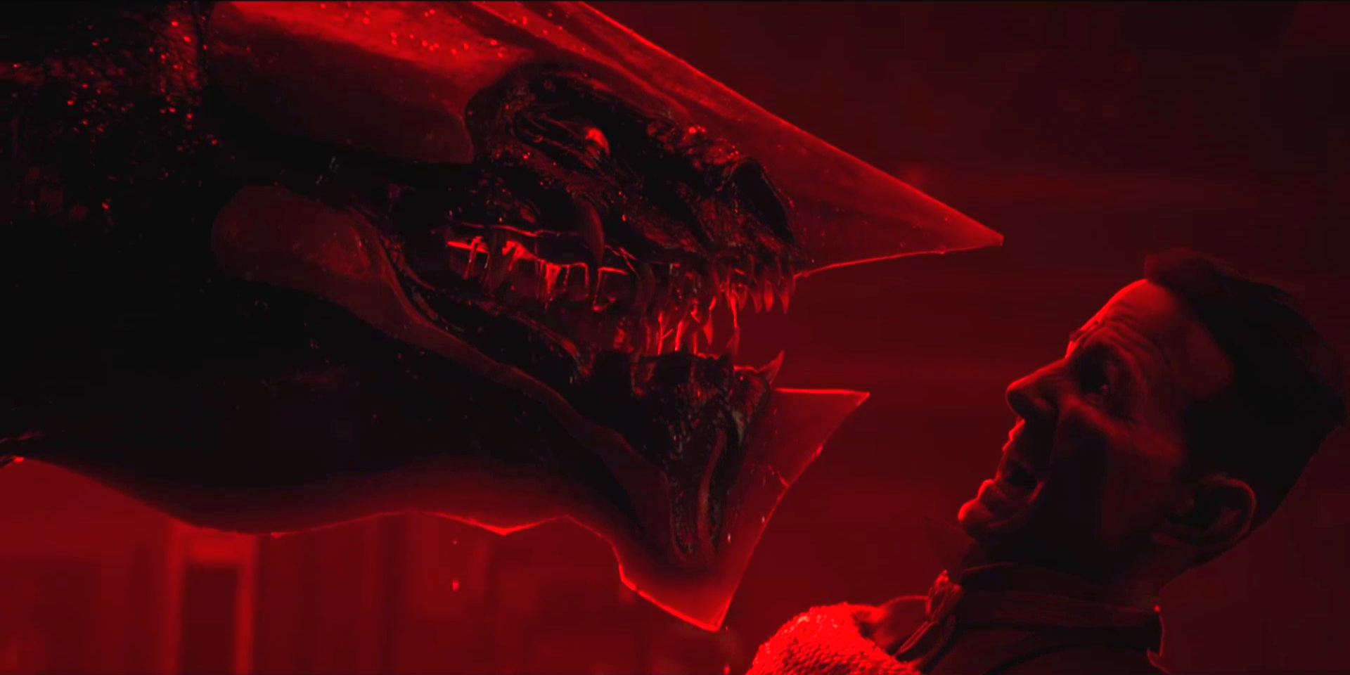 """Sonnie's Edge,""  Love Death + Robots  (Netlfix, 2019), Sonnie-Khanivore snags Dicko; eat the patriarchy"