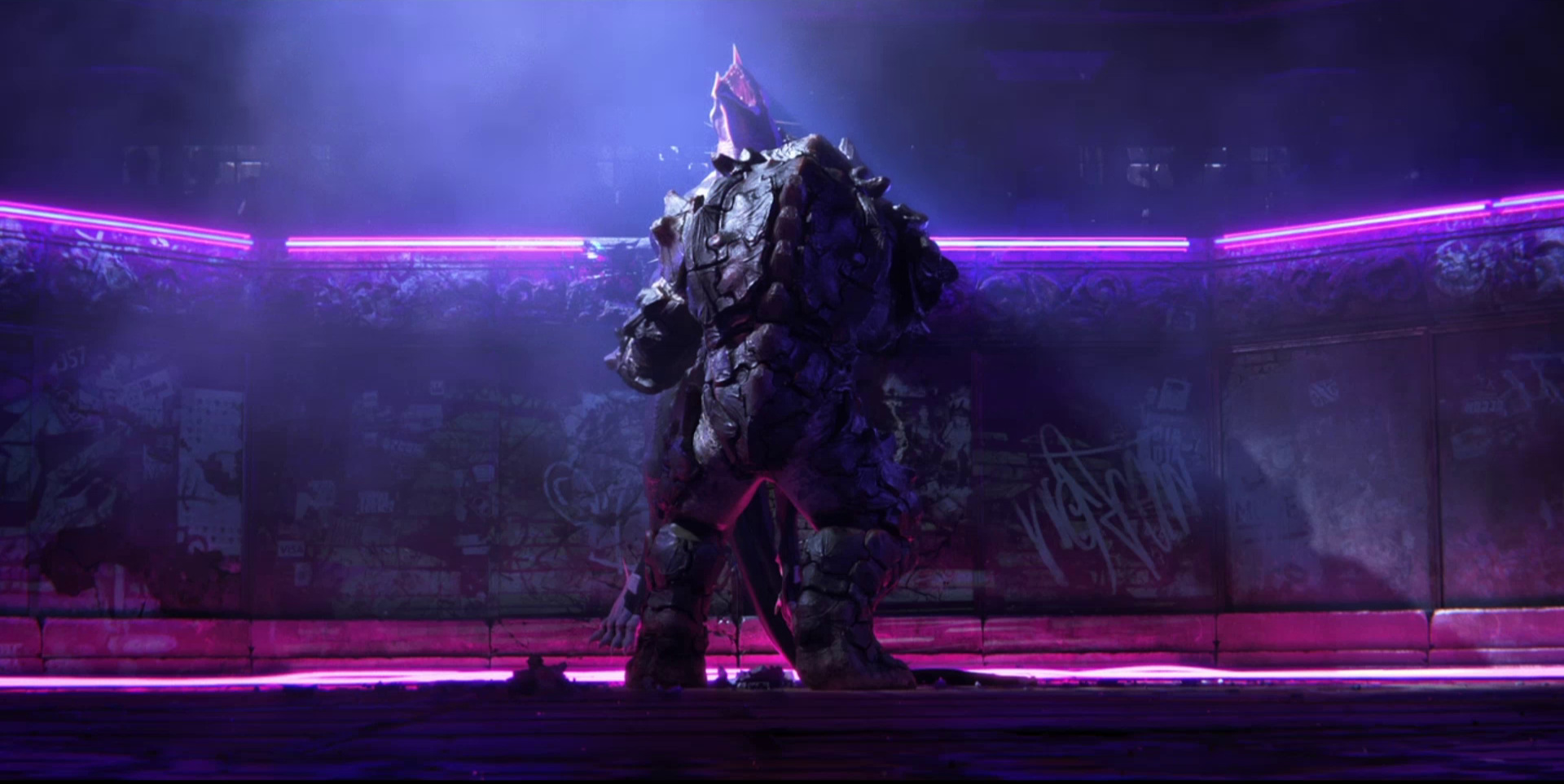 """Sonnie's Edge,""  Love Death + Robots  (Netlfix, 2019), ""sex"" against the wall"