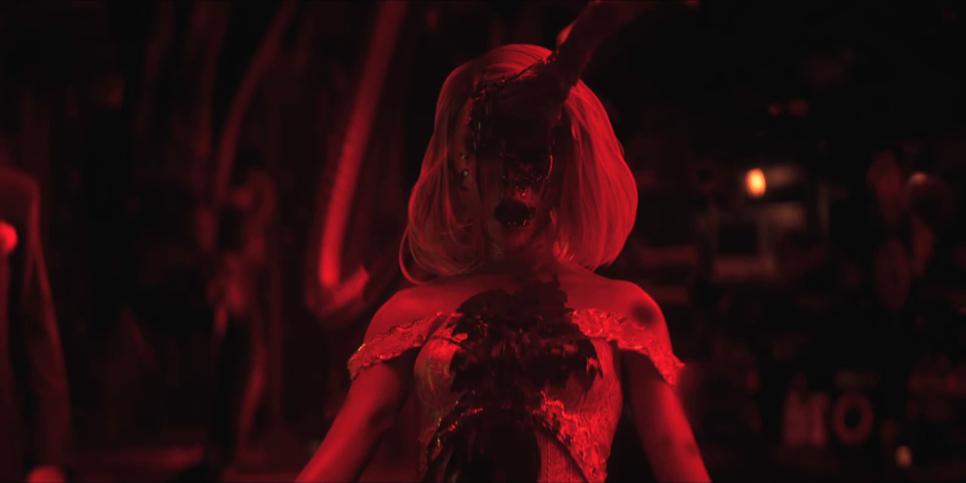 """Sonnie's Edge,""  Love Death + Robots  (Netlfix, 2019), Jennifer is graphically impaled"