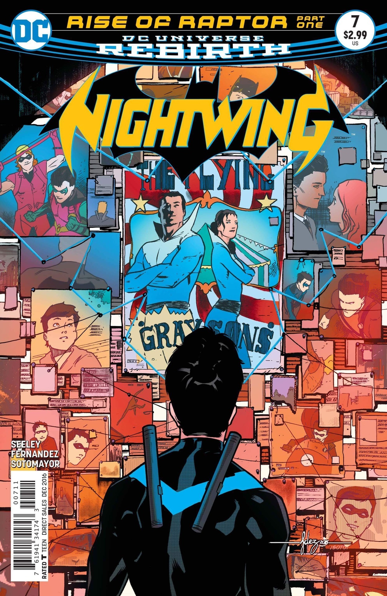 Nightwing  vol. 4 #7 (DC, December 2016), cover