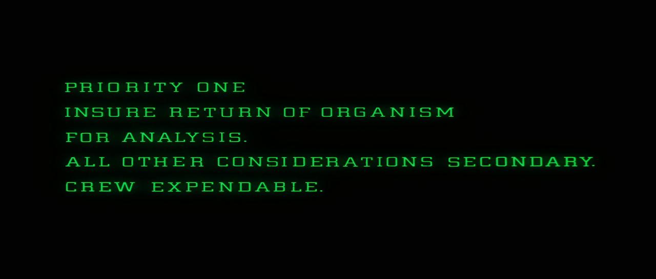 Alien  (dir. Ridley Scott, 1979)
