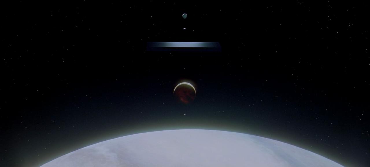 2001: A Space Odyssey  (dir. Stanley Kubrick, 1968)