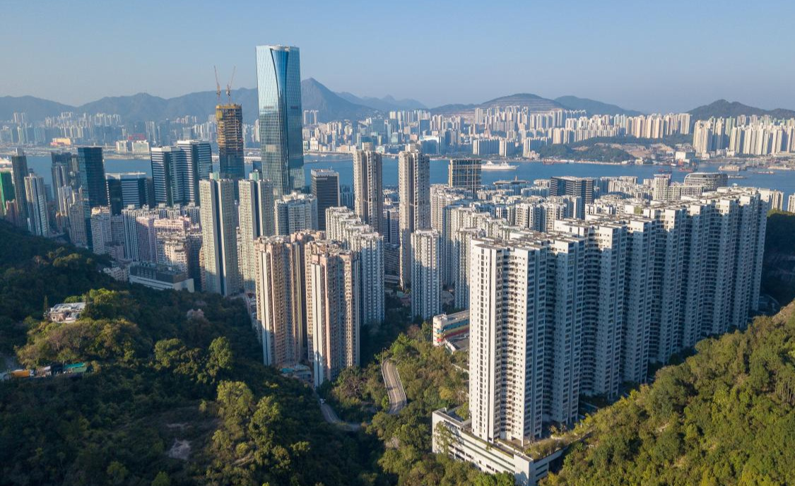 Quarry Bay, looking north-east
