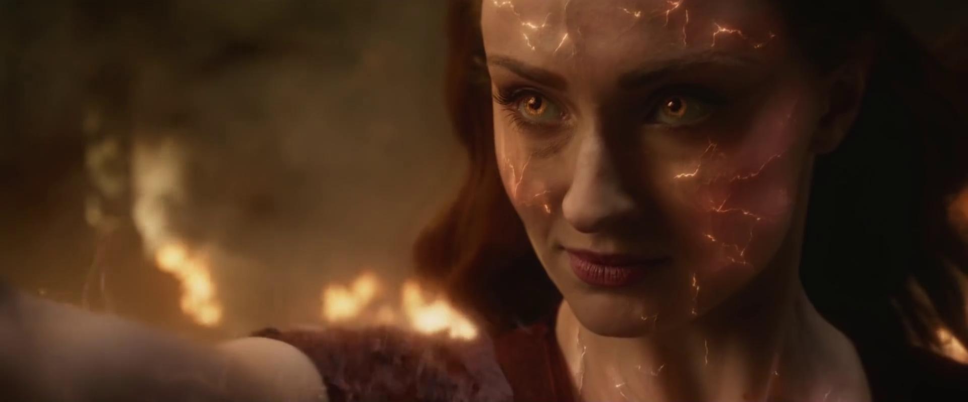 Dark Phoenix  (dir. Simon Kinberg, 2019), still from final trailer