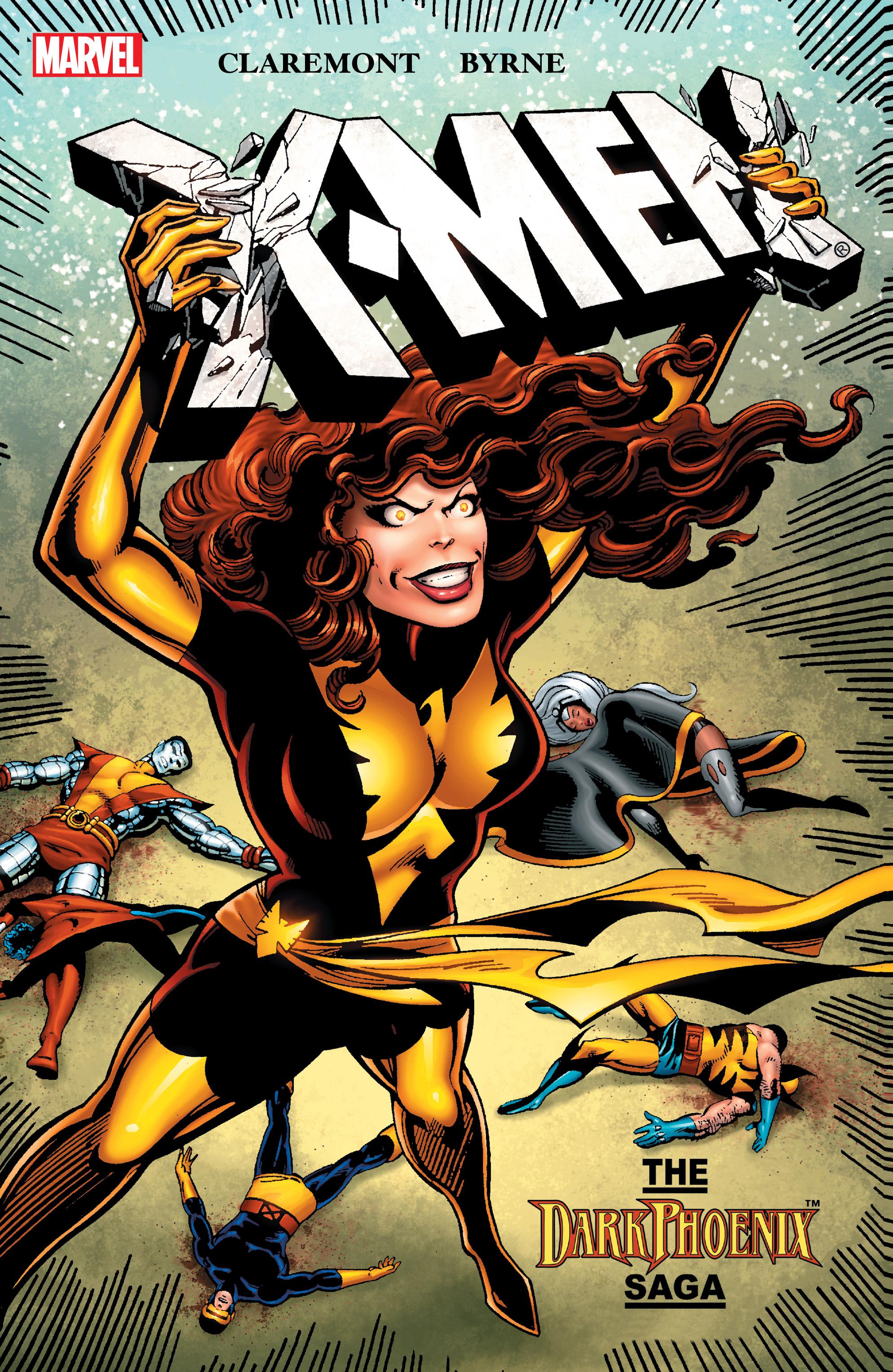 X-Men: The Dark Phoenix Saga  (Marvel, 2006), trade dress