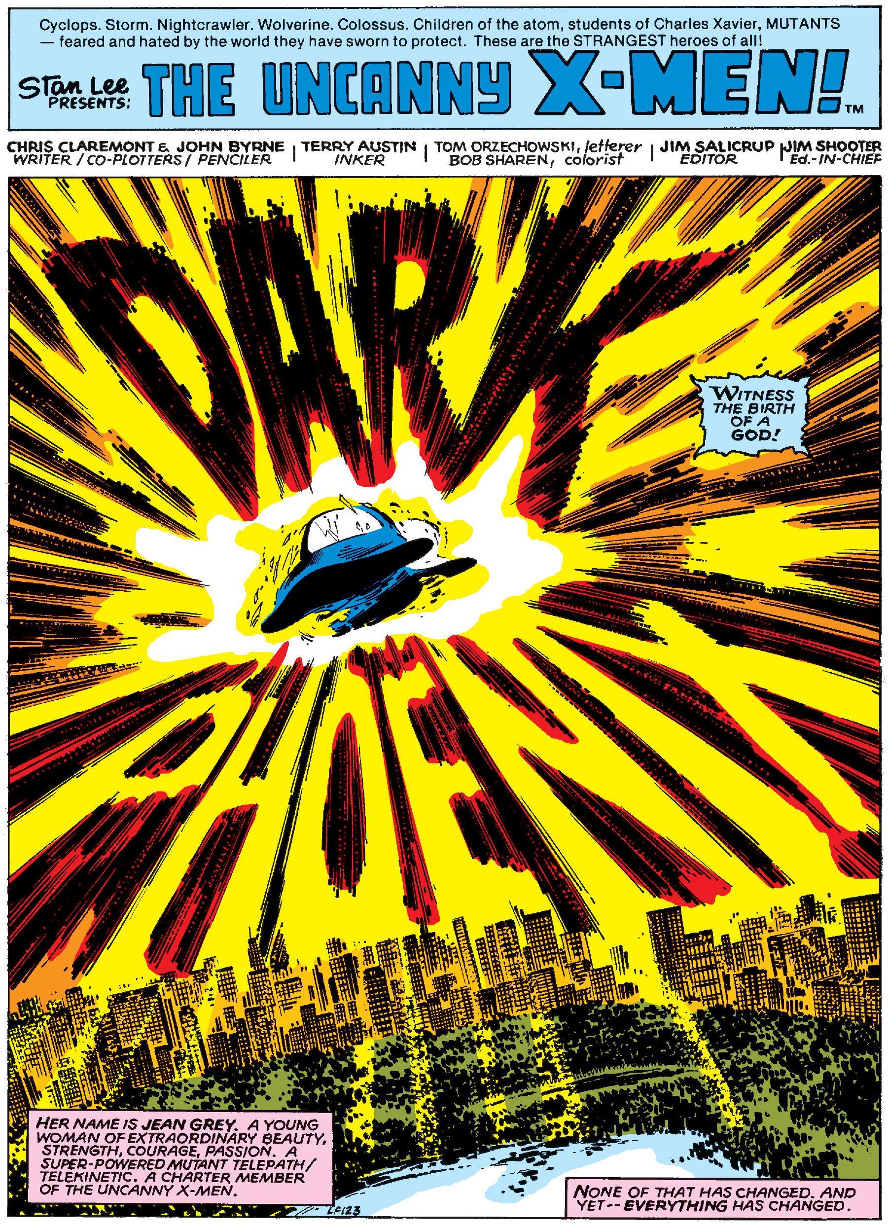Uncanny X-Men  #135 (Marvel, August 1980), page 1